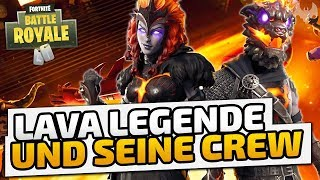 LAVA LEGENDE & seine Crew - ♠ Fortnite Battle Royale ♠ - Deutsch German - Dhalucard