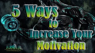 How to become motivated...
