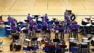Field of Steel Falcon Steel Band at Catalina Foothills High School