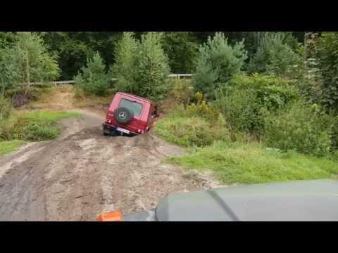 Mercedes G 250 GD Wolf im Fürsten forest offroad 5