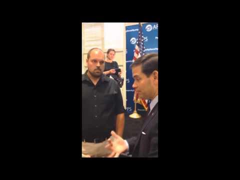 Mainstream media Suppressing Marco RUBIO caught in BIG LIE