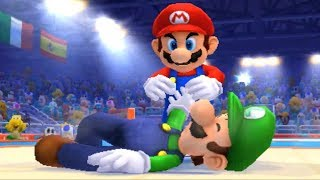 Mario & Sonic at the London 2012 Olympic Games (3DS) - Judo (All Characters)
