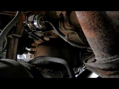 [FPER_4992]  How to Replace Fuel Filter on Nissan with VG33E (3.3L 2000 model  Pathfinder) - YouTube | 97 Nissan Altima Fuel Filter Location |  | YouTube