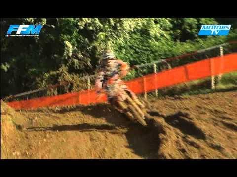 Chpt France Elite MX Plomion - Les essais