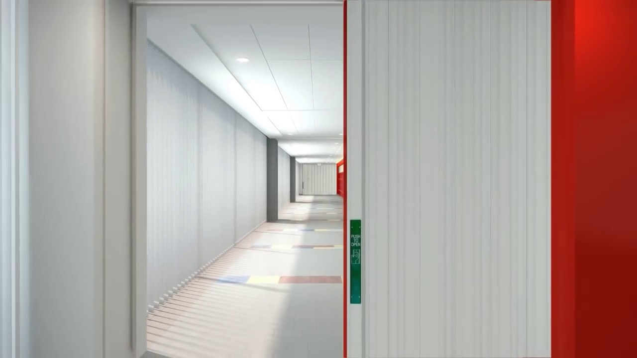 School Security With Wondoor Accordion Doors Youtube