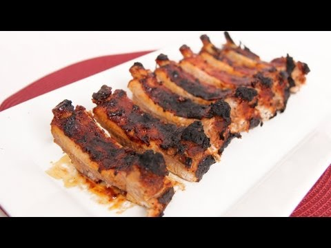 BBQ Baby Back Ribs Recipe - Laura Vitale - Laura in the Kitchen Episode 599