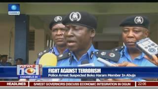 News@10: Police Arrest Suspected Boko Haram Member In Abuja 24/07/17 Pt 1