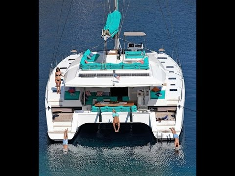 Amara  crewed catamaran charter BVIs