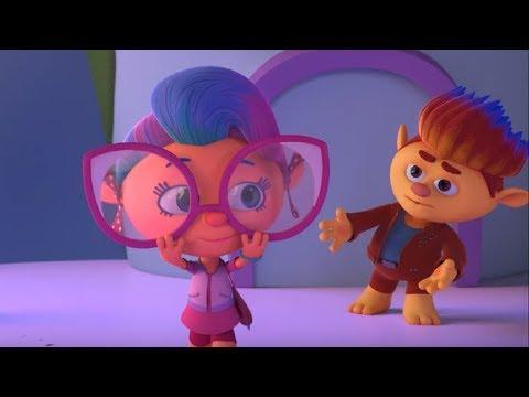 Монсики - все серии сразу - сборник - серии 18-22– мультфильм для детей – чувства и эмоции