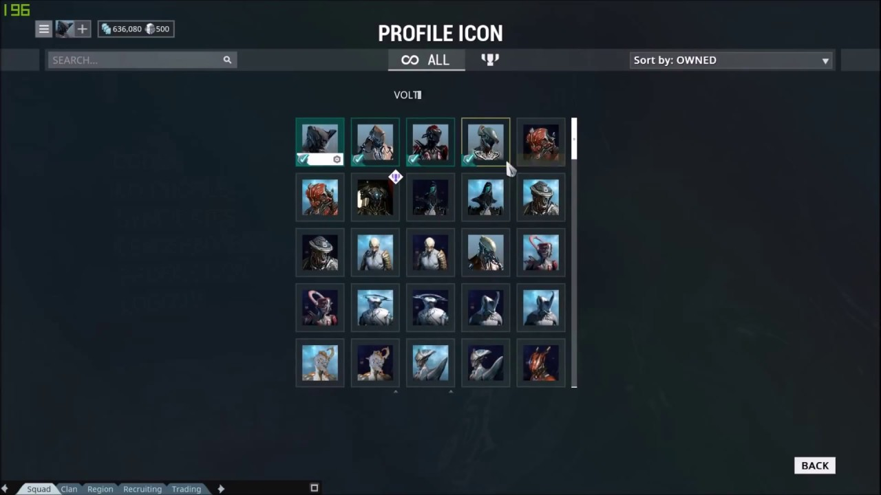 How to change the profile icon/glyph in Warframe! - YouTube