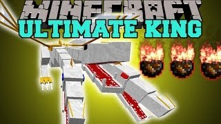 Minecraft: THE ULTIMATE KING (CAN YOU SURVIVE THE DEADLIEST BOSS YET?) Mod Showcase