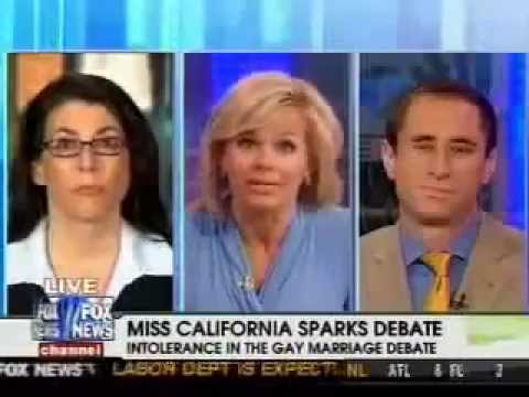 Tammy Bruce on the Gay Gestapo & Miss California Marriage Statement on Fox & Friends