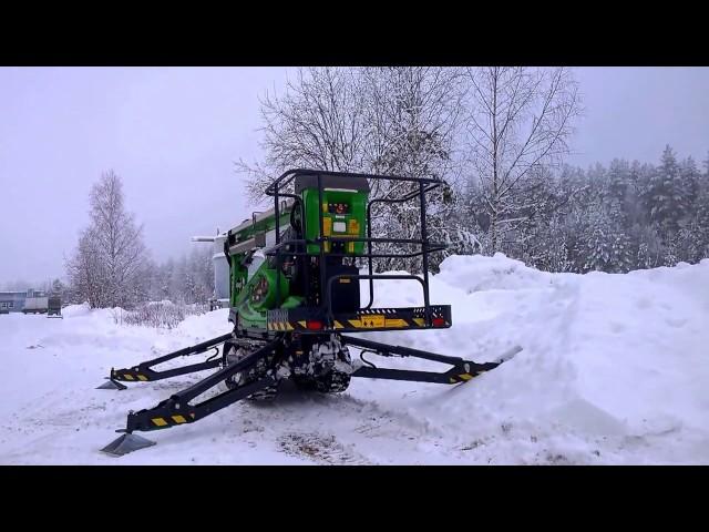 2016 01 25 Leguan 135 TRD on snow
