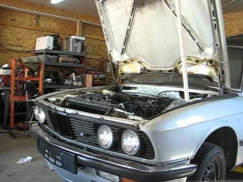 1985 BMW e28 LS1 T56 first start