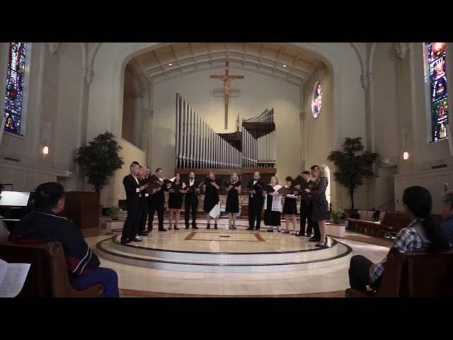 NovAntiqua: Consors paterni luminis (plainchant), Cantique de Jean Racine (Fauré)