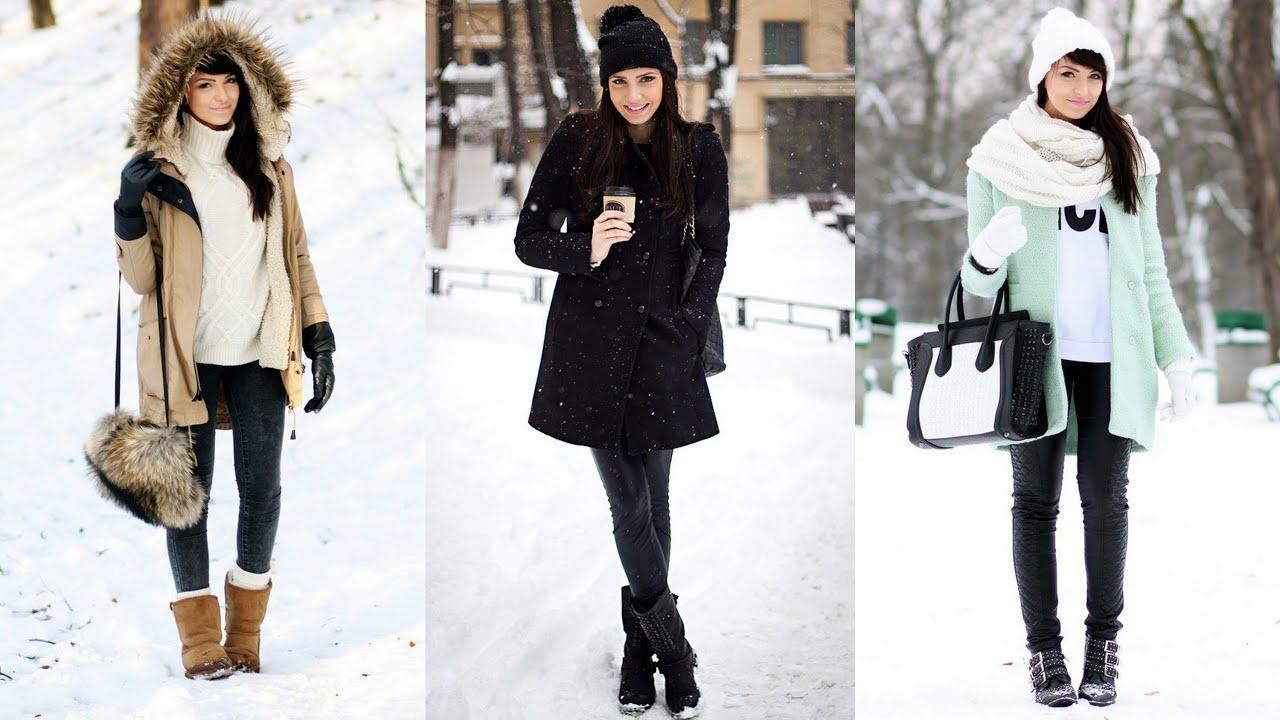 16 Winter Street Style Looks Youtube