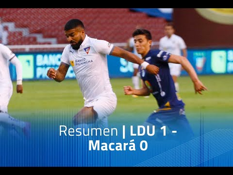 LDU Quito Macara Goals And Highlights