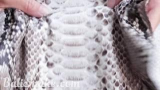 видео Купить змеиную кожу оптом. Натуральная кожа питона от производителя