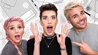 Download James Charles Surprise Room Makeover! | OMG We're Coming Over! Mp3 and Videos