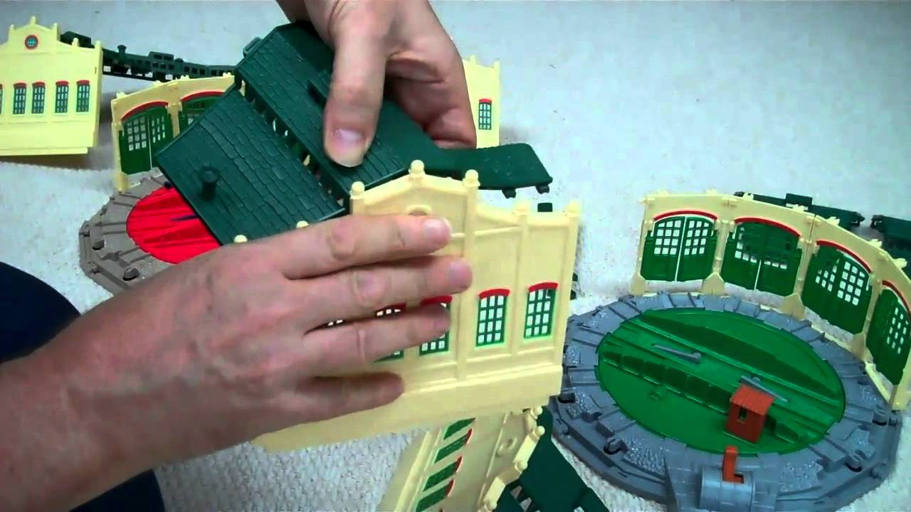 How To Assemble TIDMOUTH SHEDS Tomy Trackmaster Thomas And ...