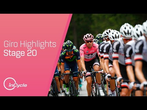 Giro d'Italia: Stage 20 - Highlights