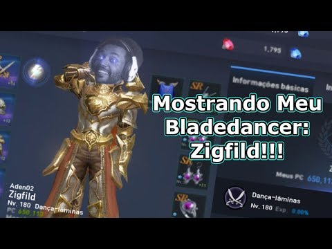 Lineage 2 Revolution: Bladedancer Zigfild ! Mostrando meu Char - Omega Play