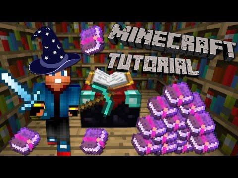 Minecraft Tutorial Ita Quanti E Quali Sono Gli Incantamenti Di Minecraft