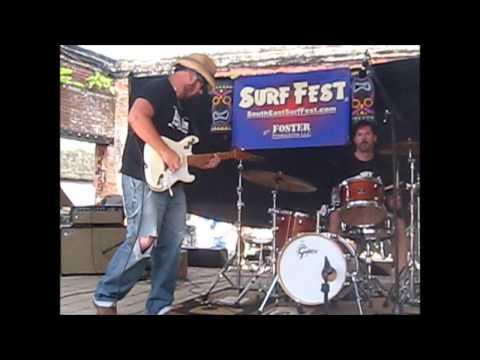 THE MONTERREYS  3 songs @ Surf Fest 2013 Douglasville