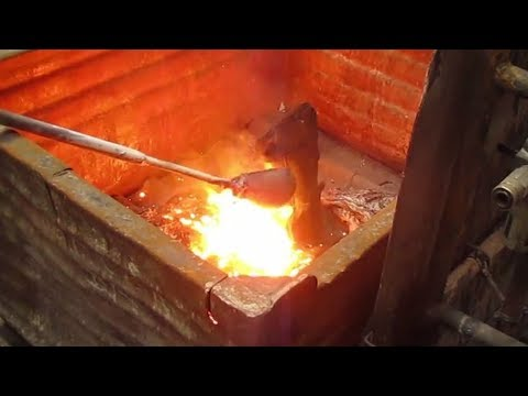 Rock Fall Vulcan Foundry Safety Boots | CMF | William Lee | Molten Metal Enhanced Test