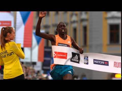 Geoffrey Ronoh interview before Volkswagen Prague Marathon