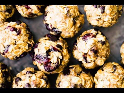 No Bake Oatmeal Cookies Energy Bites {Gluten Free}