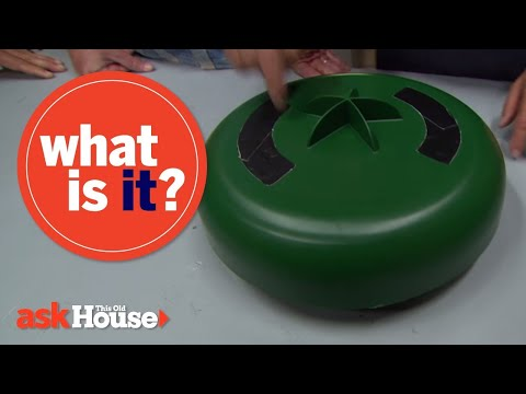 What Is It? | Green Plastic Circle