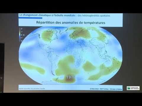 Conférence Climate Initiative / Fondation BNP Paribas