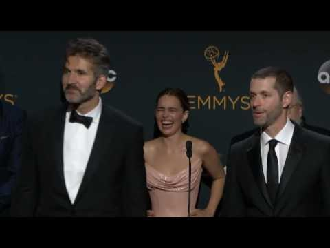 Game of Thrones Emmys 2016 Full Backstage Interview