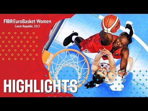 Hungary v Spain - Highlights - FIBA EuroBasket Women 2017