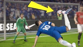 FIFA 18 TOP 10 BEST GOALS! Ft. SCORPION KICK,BACK HEEL, IMPOSSIBLE FREE KICK!