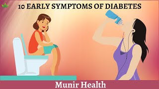 10 Early symptoms of diabetes do not ignore these
