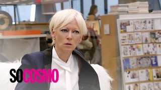 "Joanna Coles Sits Down With New ""Cosmo"" Editor-in-Chief 
