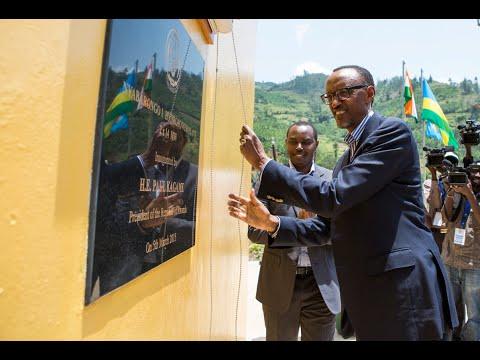 RWANDA'S NYABARONGO HYDRO POWER UNVEILED