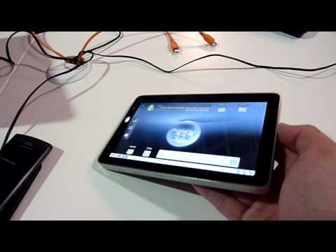 ViewSonic ViewPad 7 Hands On - Deutsch