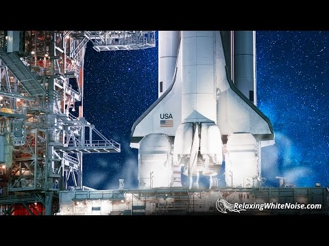 Space Shuttle Launch Pad White Noise | 10 Hours for Studying, Sleep, Improved Focus
