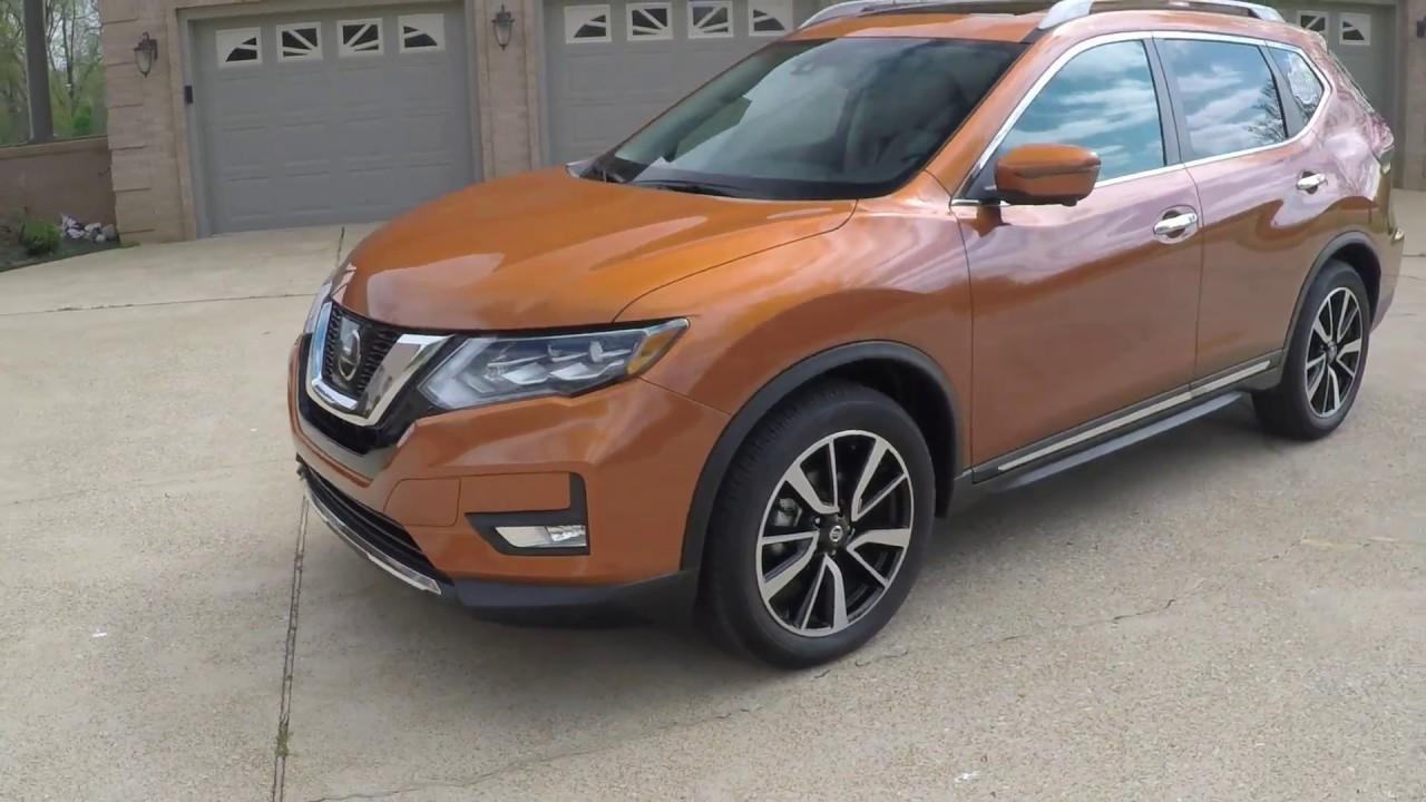 West Tn 2017 Nissan Rogue Sl Premium Platinum Monarch Orange For Info Www Sunsetmotors Com