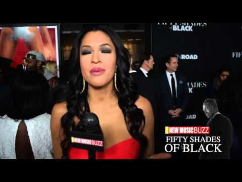 Kali Hawk at the 'Fifty Shades of Black' Premiere