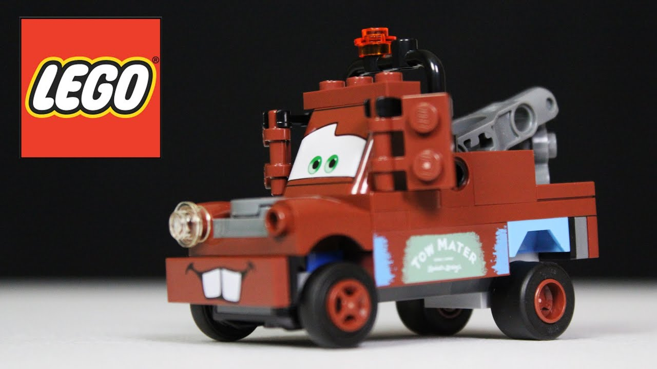 Lego Radiator lego cars radiator springs classic mater review, unboxing, time