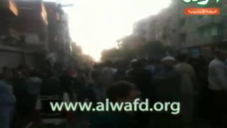 كاميرا الوفد ترصدحادث قطار القلج بالقليوبية