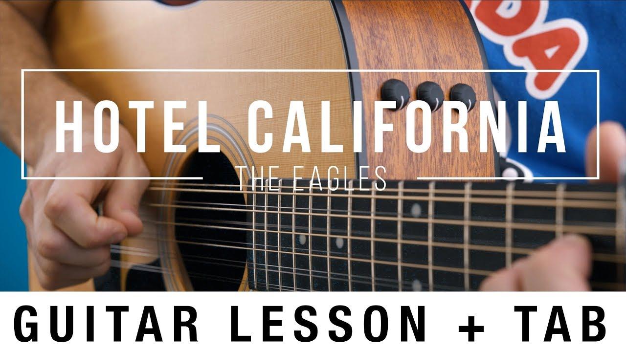 hotel california intro tab pdf