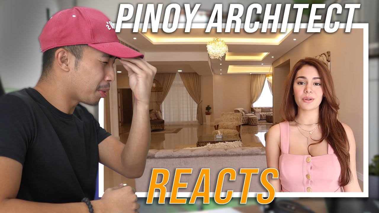 PINOY ARCHITECT REACTS TO IVANA ALAWI'S HOUSE