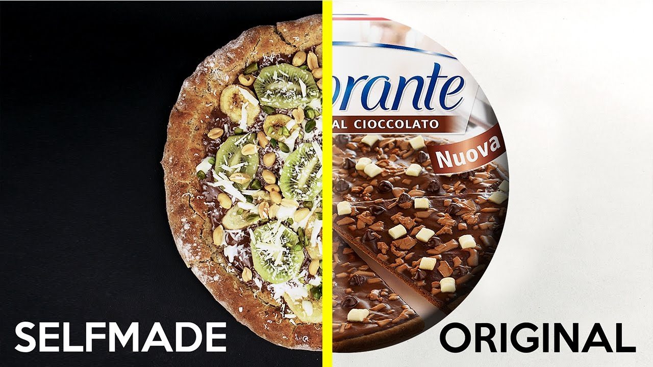 Schokoladen Pizza Selber Machen Youtube