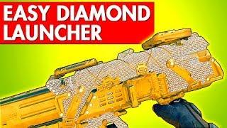 BLACK OPS 4 EASY DIAMOND CAMO LAUNCHER - Gold Camo Hellion Salvo