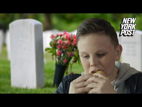 McDonald's tries to use this kid's dead dad to sell fast food | New York Post